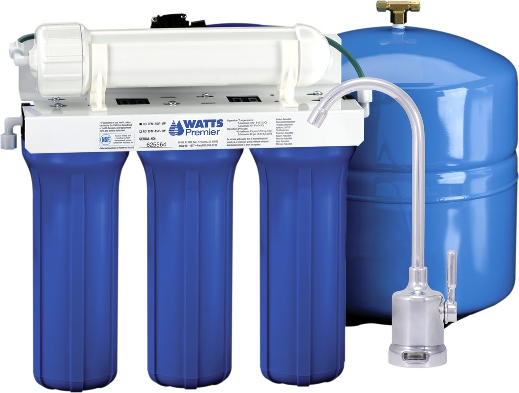 watts premier five stage epa etv verified reverse osmosis system in sizing 1056 x 800