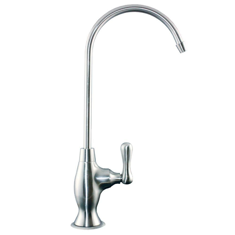 Ideas, watts single handle water dispenser faucet in brushed nickel with regarding sizing 1000 x 1000  .