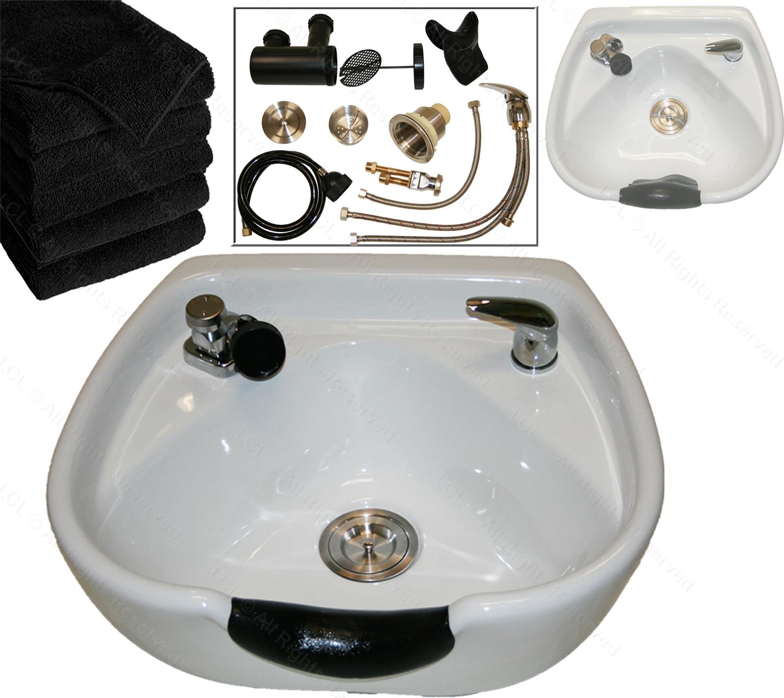 Ideas, white ceramic heart shape round shampoo bowl sink bracket barber pertaining to dimensions 1600 x 1425  .