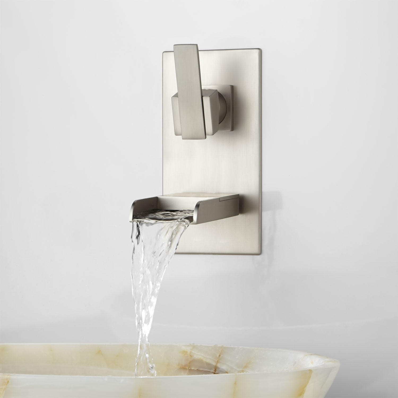 Ideas, willis wall mount bathroom waterfall faucet bathroom regarding dimensions 1500 x 1500  .