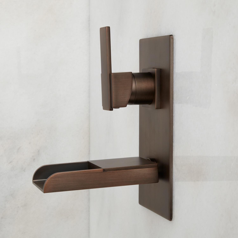 Ideas, willis wall mount bathroom waterfall faucet bathroom regarding measurements 1500 x 1500  .