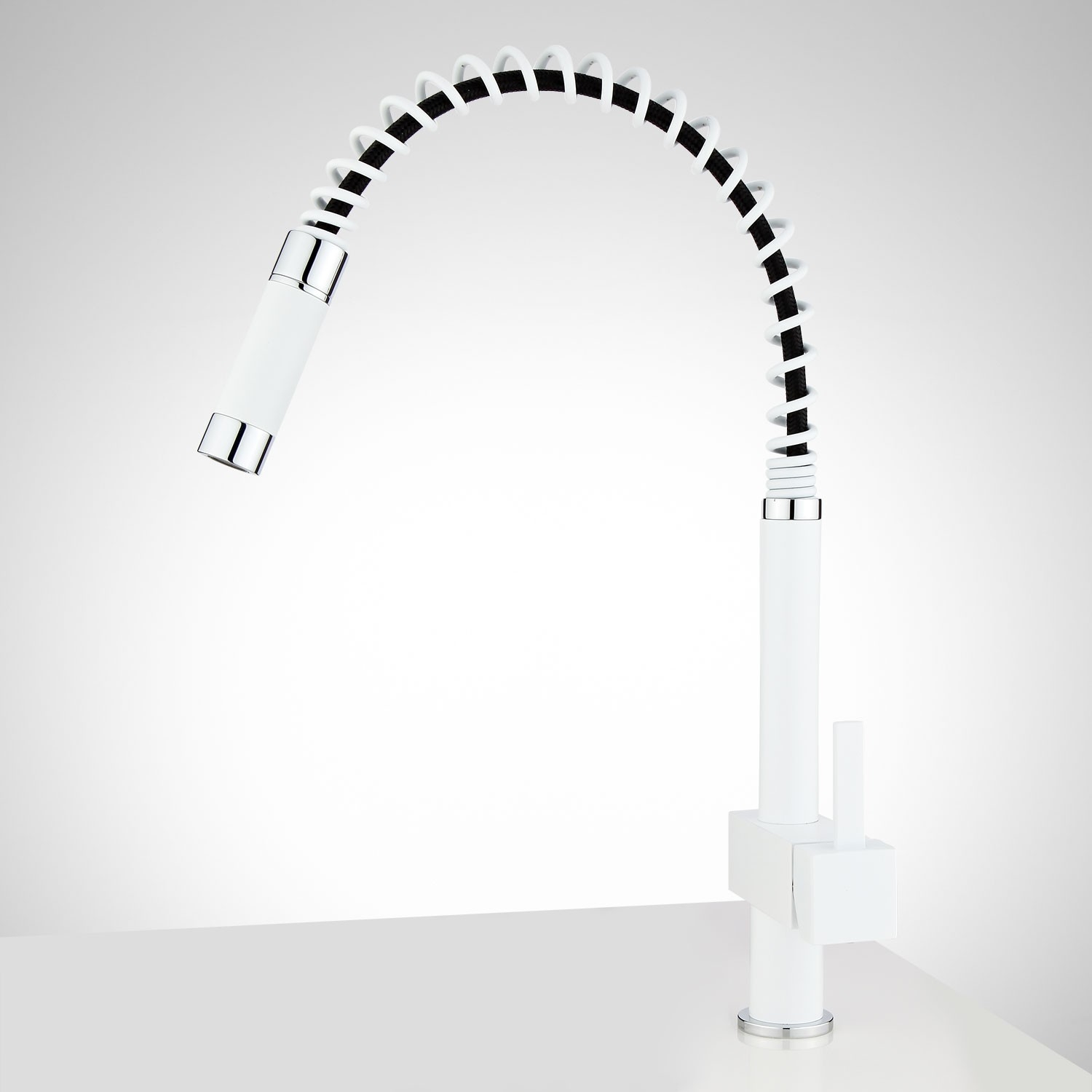 zavala single hole kitchen faucet with pull down spring spout intended for size 1500 x 1500