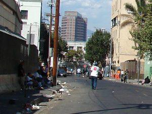 Los Angeles Skid Row, photo by Jorobeq at en.wikipedia.org