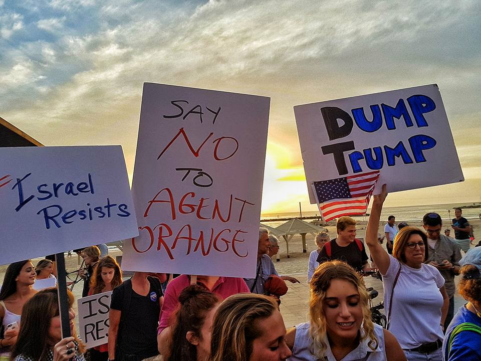 Anti-Trump rally Tel Aviv 2017 (3)