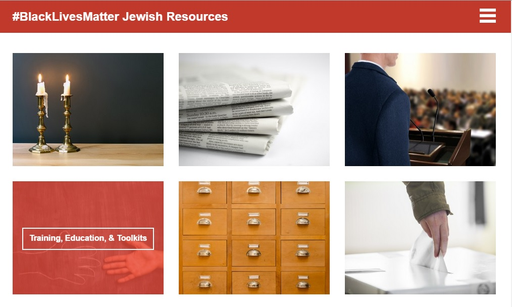 BlackLivesMatter Jewish resources