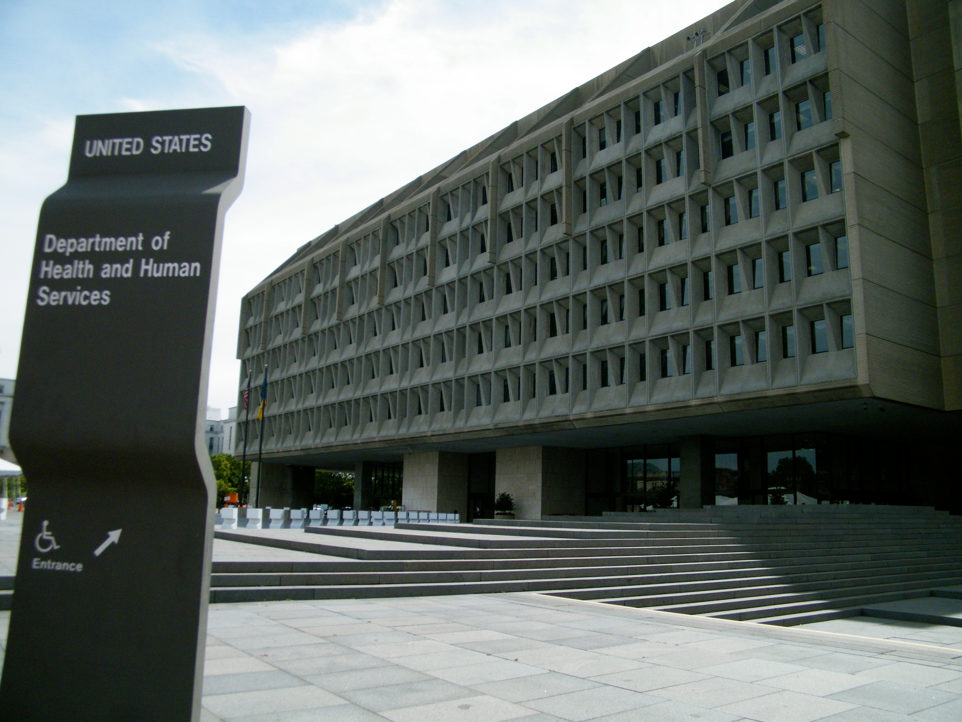 Department of Health & Human Services, photo by Sarah Stierch (CC BY 4.0) Wikipedia Commons