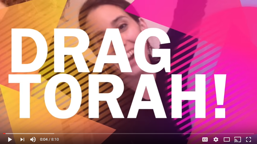 Drag Torah by the Glittery Rebbetzin Jo Jo Jacobson