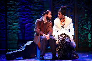 [Eric Anderson and Amber Iman, photo by Carol Rosegg]