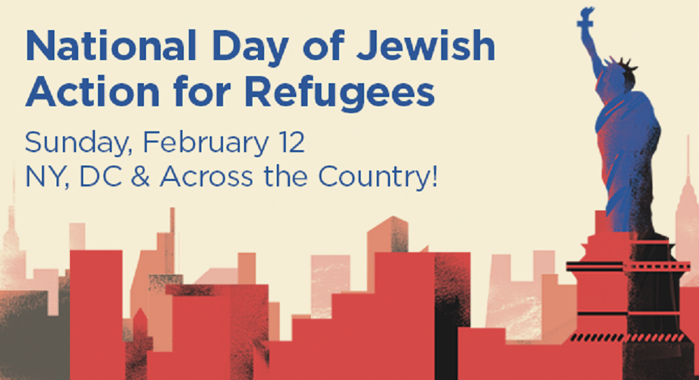 Feb 12: HIAS Day of Jewish Action for Refugees