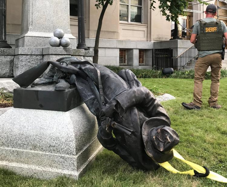 Takedown Confederate Statue