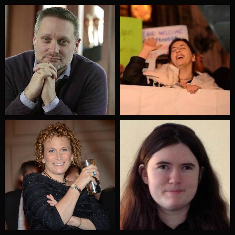 Rabbis Adam Latz, Danya Ruttenberg, Jill Zimmerman, and Ruti Regan