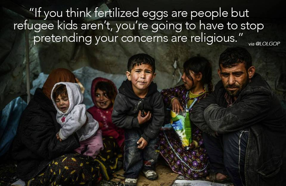 Religion and Syrian refugees