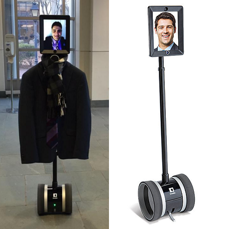 StandWithUs thought police robot, courtesy Open Hillel