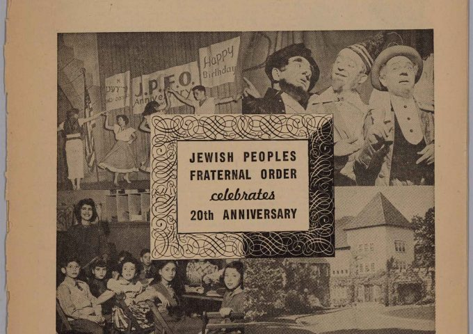 The Publication of the Jewish Peoples Fraternal Order