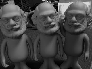 Allen Ginsberg Statuettes