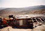 destruction of Jahalin Bedouin home