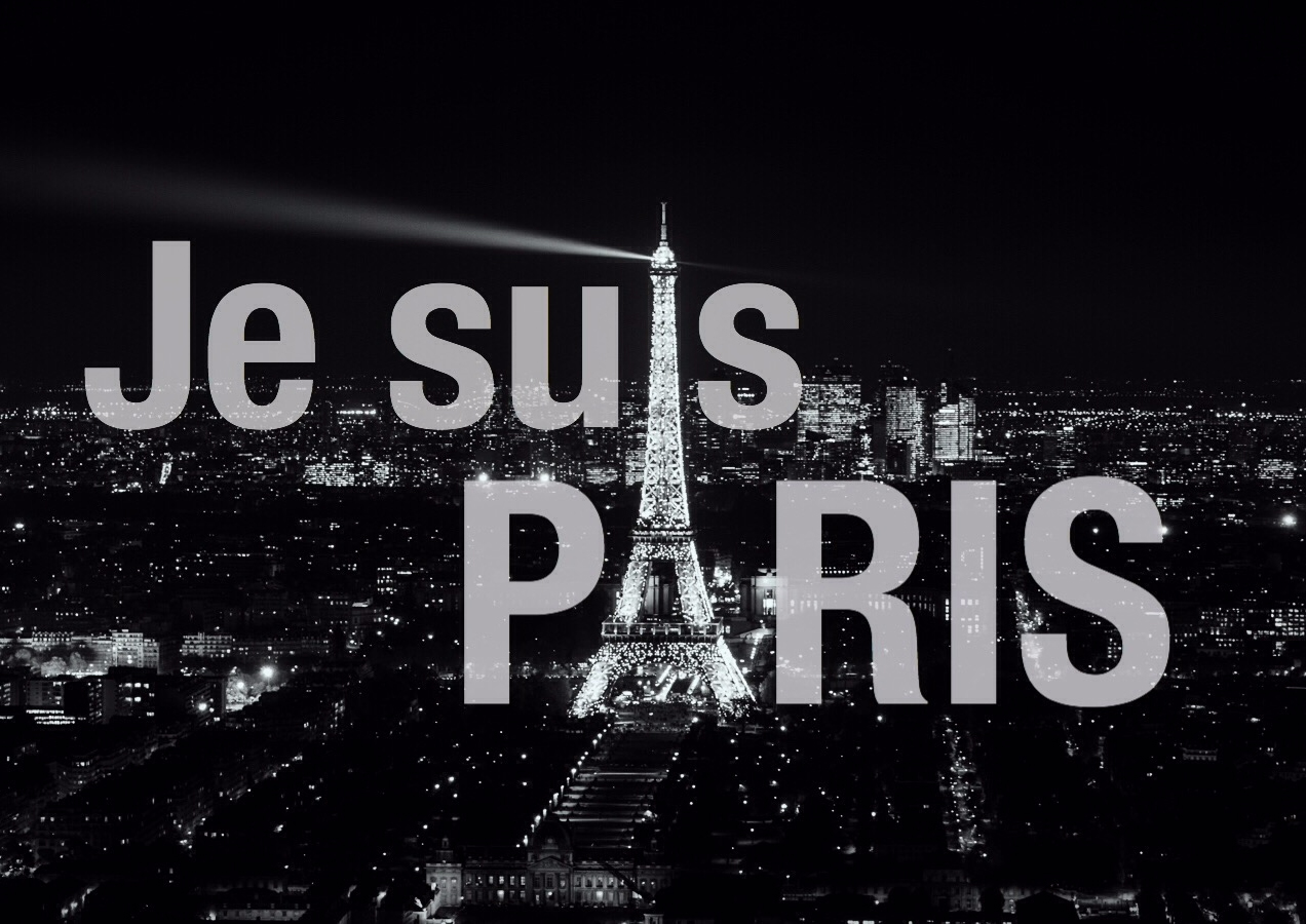 Photo: Je suis Paris by marcjohn.de Marc Oliver John 2015