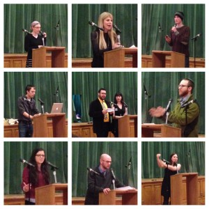 Sermon Slam participants