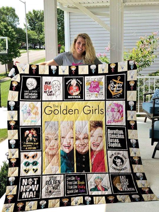 The Golden Girls Tv Series For Fan Quilt Blanket quilt blanket