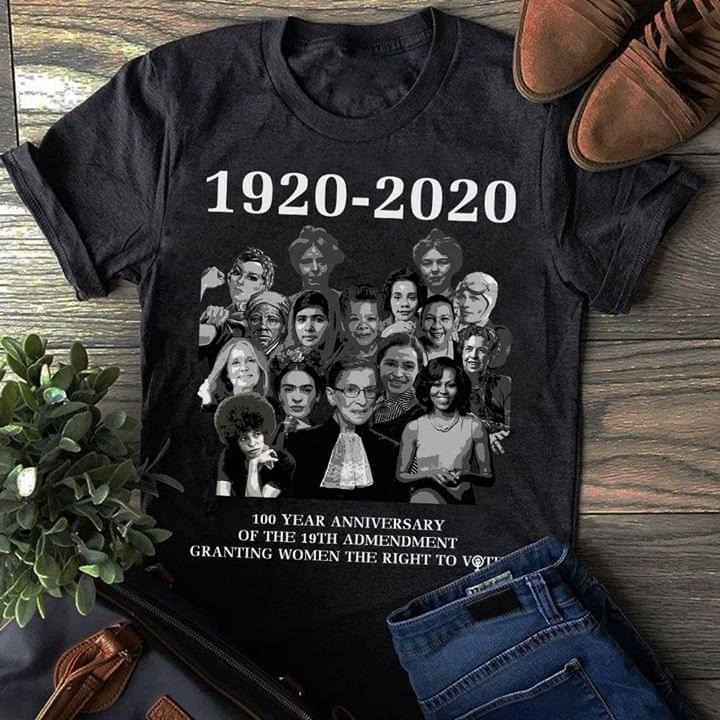 100 Year Anniversary Of 19th Amendment Granting Women The Right To Vote T Shirt cotton t-shirt Hoodie Mug