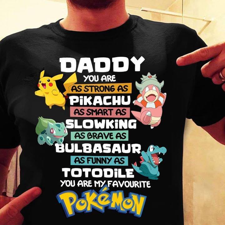 Pokemon Daddy Farthers Day Gifts cotton t-shirt Hoodie Mug