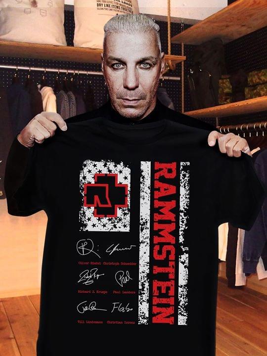 Ramstein Legend Signatures For Fan cotton t-shirt Hoodie Mug
