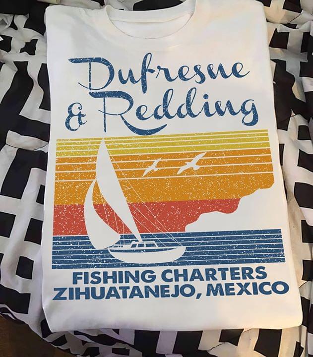 Dufresne And Redding Fishing Charters Zihuatanejo Mexico Retro cotton t-shirt Hoodie Mug