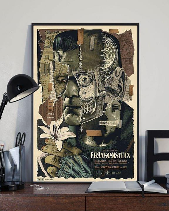 Frankenstein Universal Picture For Lovers Poster poster canvas