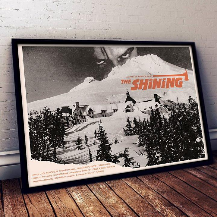 The Shining A Stanley Kubricks Film For Lovers Poster poster canvas