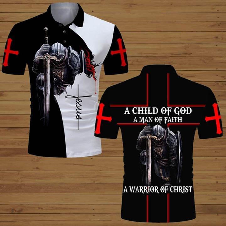 A Child Of God A Man Of Faith A Warrior Of Christ 3d Print 3d shirt hoodie sweatshirt