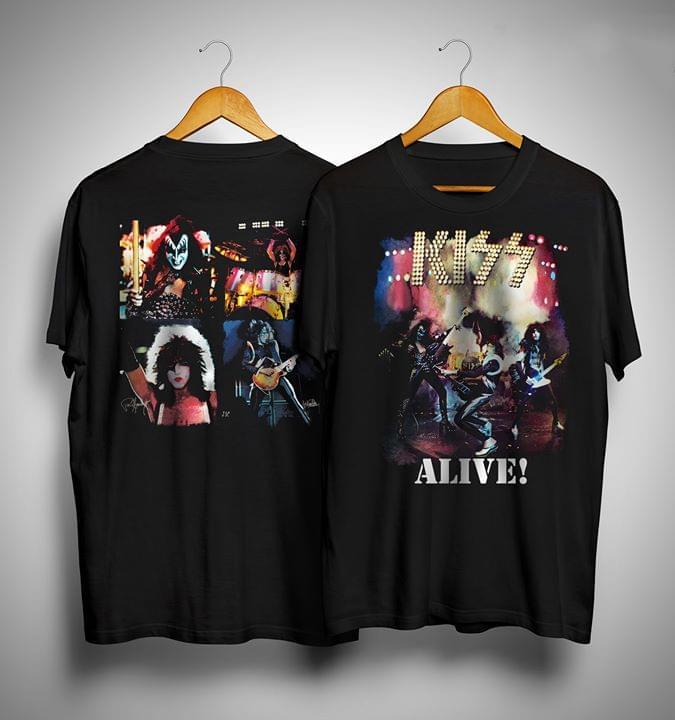 Official Kiss Paul Alive Character T Shirt cotton t-shirt Hoodie Mug