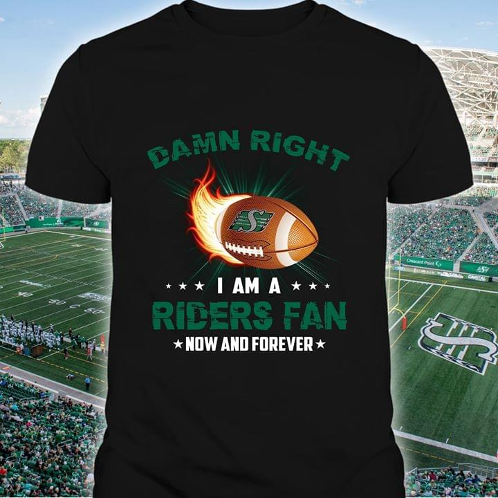 Rugby Damn Right I Am A Riders Fan Now And Forever T Shirt cotton t-shirt Hoodie Mug
