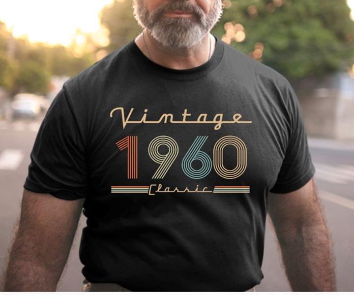 Vintage 1960 Classic cotton t-shirt Hoodie Mug