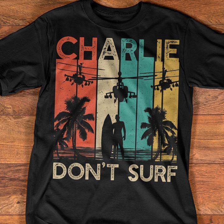 Charlie Dont Surf The Clash cotton t-shirt Hoodie Mug