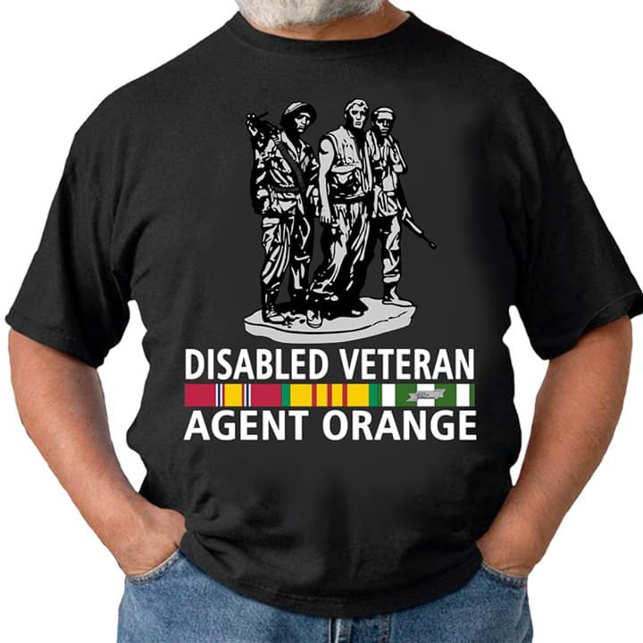 Disabled Veteran Agent Orange For Lovers cotton t-shirt Hoodie Mug