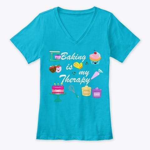 Baking Is My Therapy For Lovers cotton t-shirt Hoodie Mug
