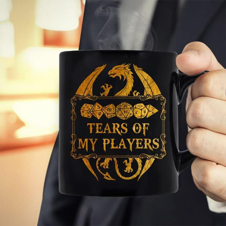 Dungeons And Dragons Tears Of My Players Dice For Fan cotton t-shirt Hoodie Mug