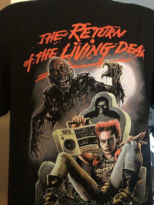 The Return Of The Living Dead Zombie For Fan cotton t-shirt Hoodie Mug