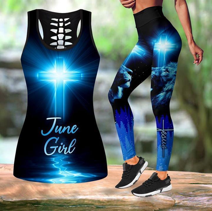 June Girl Believe In Jesus 3d shirt hoodie sweatshirt