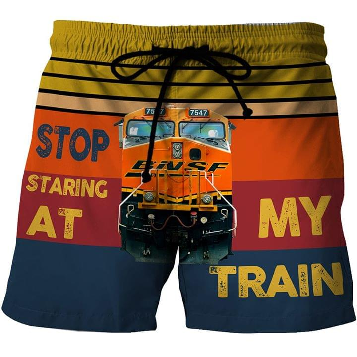 Stop Staring At My Train 3d shirt hoodie sweatshirt