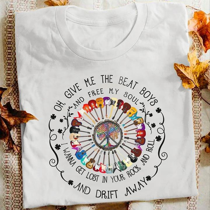 Hippie Oh Give The Beat Boys And Free My Soul I Wanna Get Lost In Your Rock And Roll T Shirt cotton t-shirt Hoodie Mug