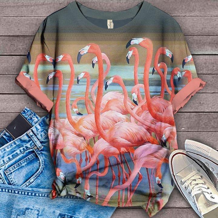 Flamingos Fashion For Lover 3d shirt hoodie sweatshirt