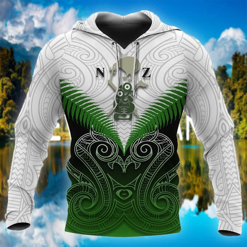 Maori Manaia Green Rugby All Over Printed 3d 3d shirt hoodie sweatshirt