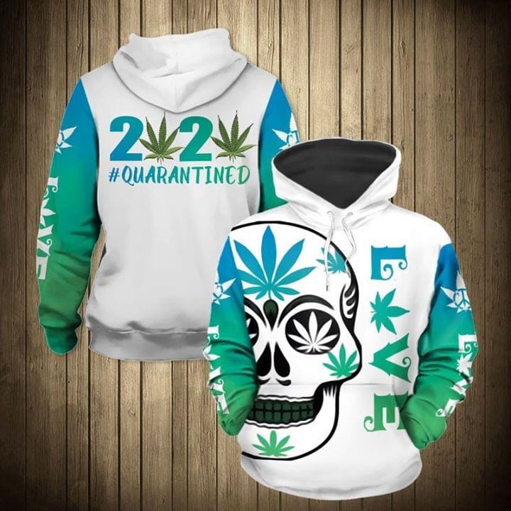 Skull 2020 Live Quarantined 3d shirt hoodie sweatshirt