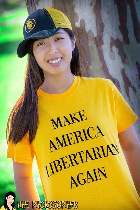 Make America Libertarian Again cotton t-shirt Hoodie Mug