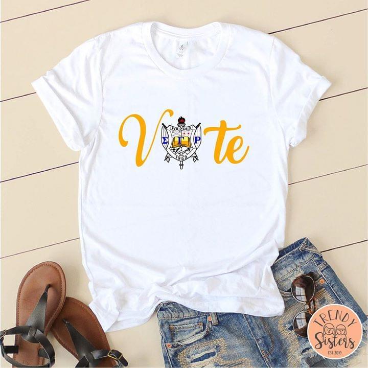 Vote Sigma Gamma Rho Version cotton t-shirt Hoodie Mug