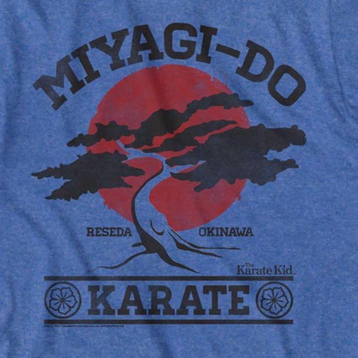 Karate Kid Miyagido Karate Reseda Okinawa cotton t-shirt Hoodie Mug