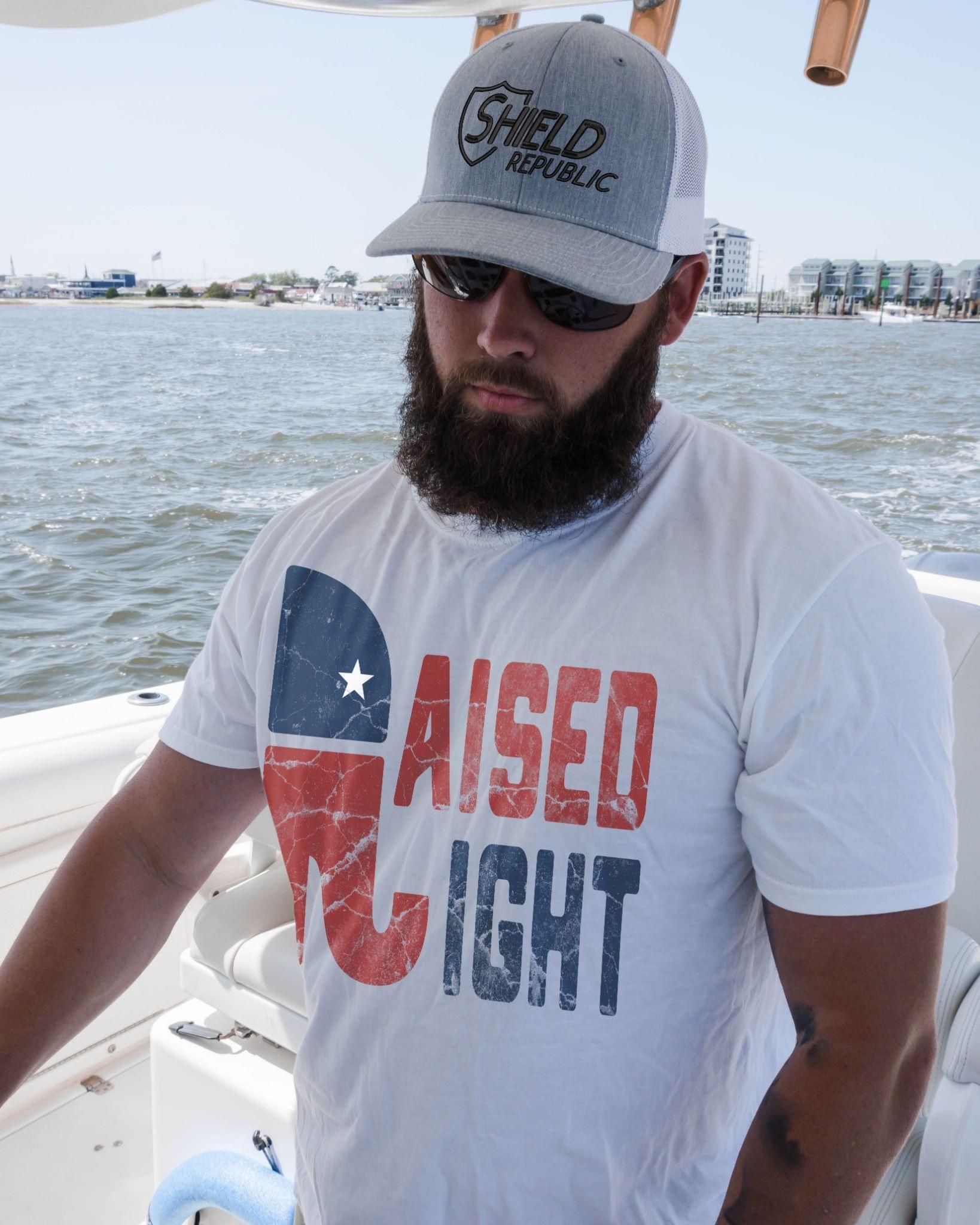 Raised Right Elephent cotton t-shirt Hoodie Mug