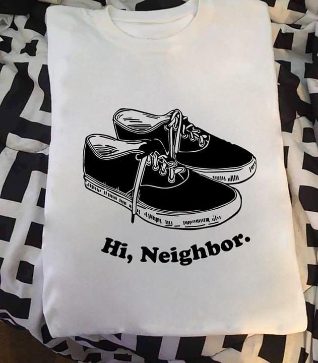 Hi Neighbor Black Classic Vans cotton t-shirt Hoodie Mug