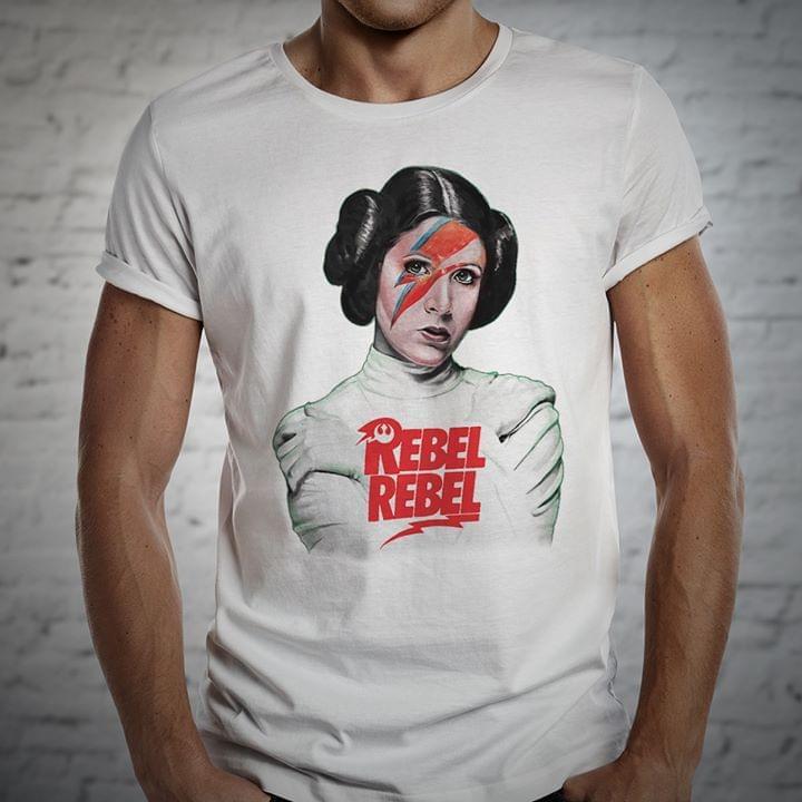 Princess Leia Rebel Rebel cotton t-shirt Hoodie Mug